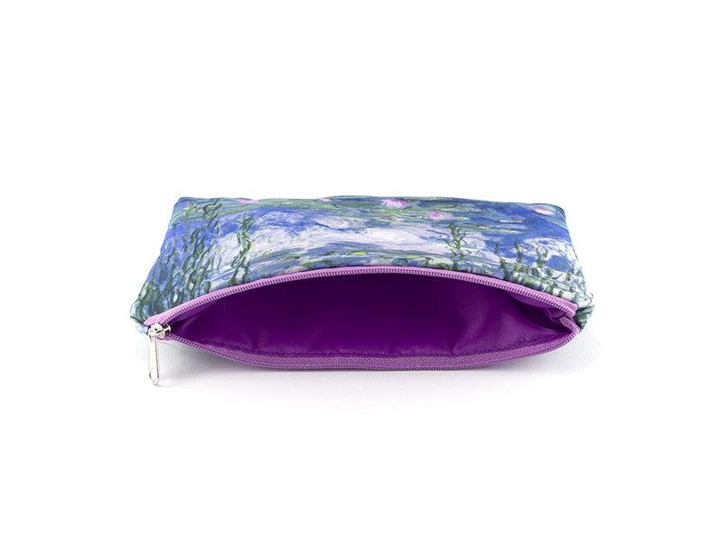 Etui / make-up tasje, Monet, Waterlelies
