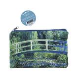 Trousse / trousse de maquillage, pont japonais, Monet