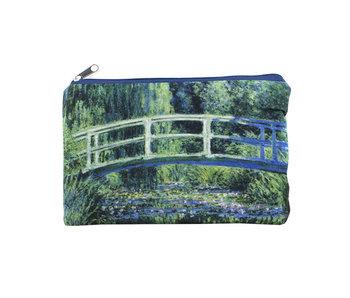 Beutel, Monet, japanische Brücke