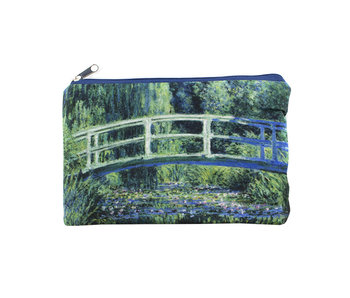 Pouch, Monet, Japanese Bridge