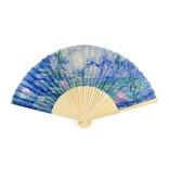 Fan, Monet, Waterlilies