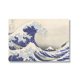 Cartel, 50x70, Hokusai, La gran ola