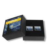 Cufflink, Starry Night, Van Gogh