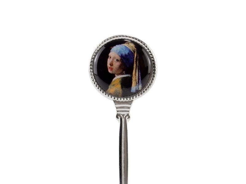 Cuillère à thé, Vermeer, Fille avec la perle
