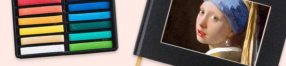 Cuaderno de bocetos paspartú