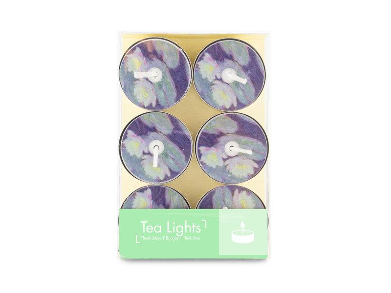 Theelicht, Monet, Waterlelies avondlicht
