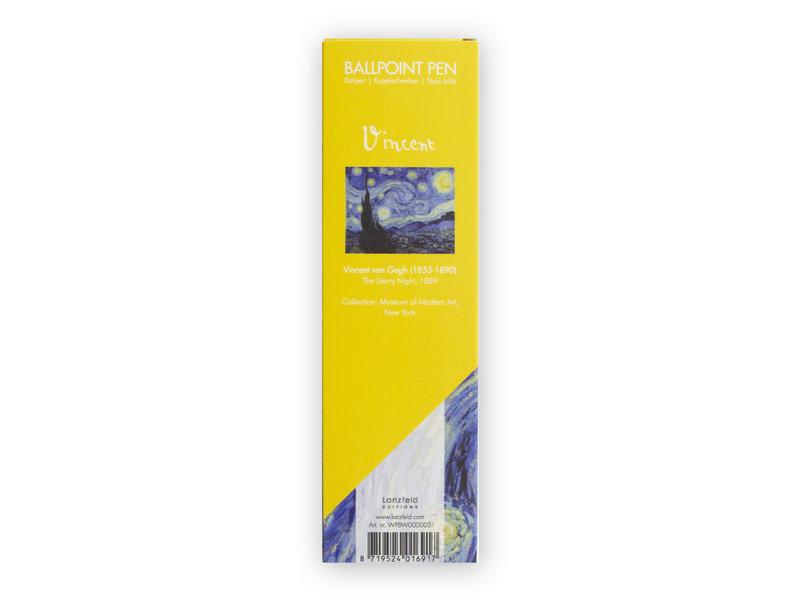 Kugelschreiber in Box, Sternennacht, Van Gogh