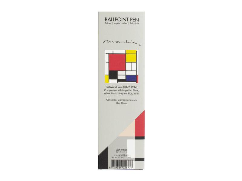 Stylo bille en boite,  Mondrian
