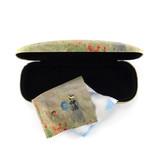 Brillenkoker met lensdoekje, Monet, Veld met klaprozen