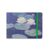 Schetsboekje, Monet, Waterlelies in avondlicht