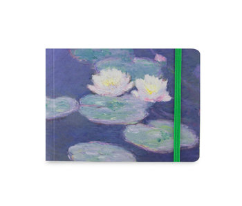 Carnet de croquis, Monet, Nympheas effet du soir