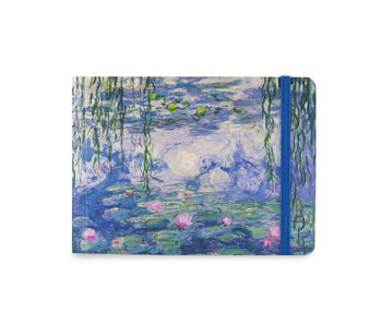 Sketchbook, Monet, Water Lilies