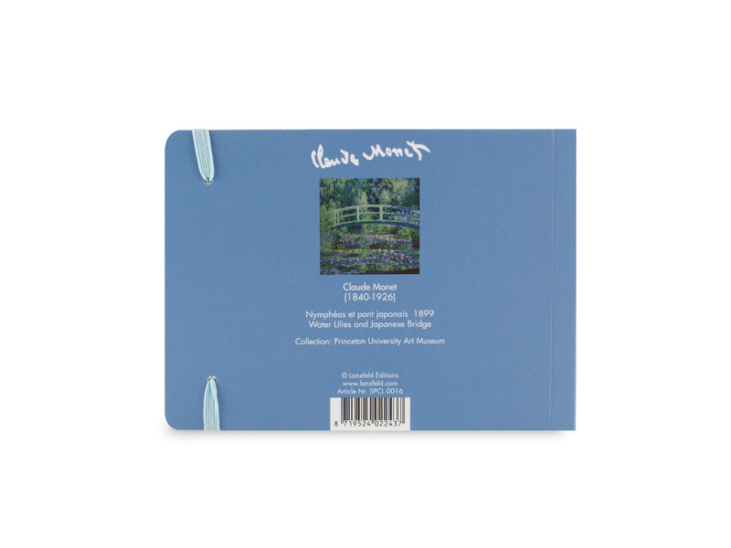 Schetsboekje, Monet, Japanse brug