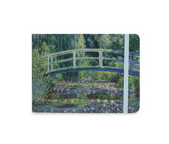 Carnet de croquis, Monet, Pont japonais