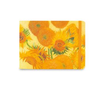 Carnet de croquis, Van Gogh, tournesols