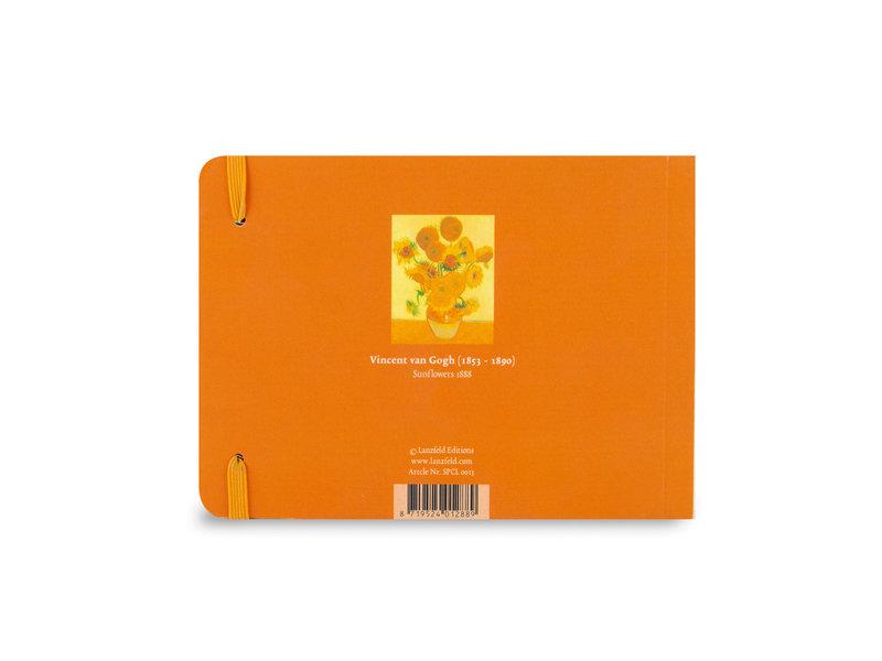 Schetsboekje, Van Gogh, Zonnebloemen