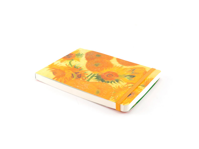 Cuaderno de bocetos, Vincent van Gogh, Girasoles