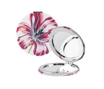 Espejo de bolsillo plegable, Merian, tres tulipanes