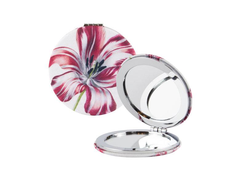Klappbarer Taschenspiegel, microfiber, Merian, drei Tulpen