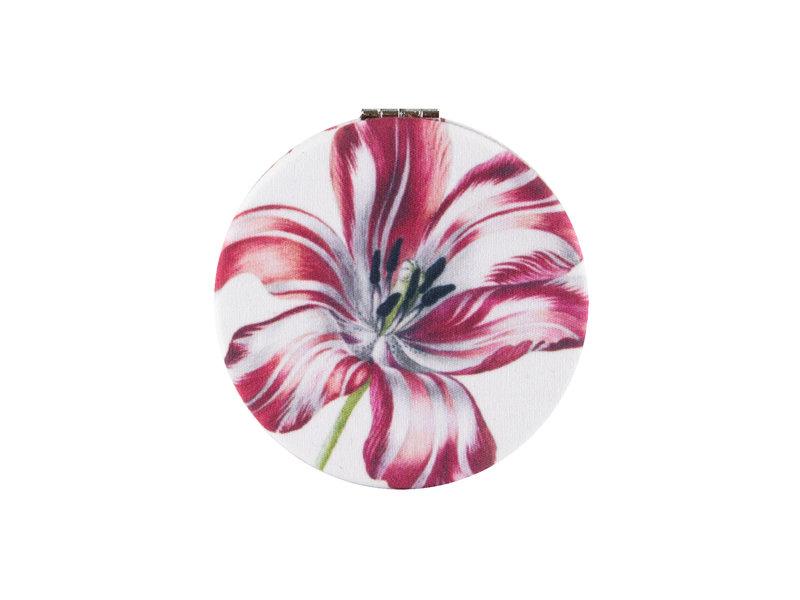 Klapspiegeltje microfiber,  Merian, Drie tulpen