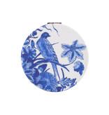 Klappbarer Taschenspiegel microfiber, Delfter blauer Vögel, Rijksmuseum
