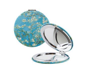 Miroir de poche pliant, Van Gogh, fleur d'amandier
