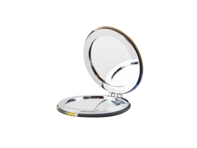 Miroir de poche pliant microfiber, Vermeer, fille avec une boucle d'oreille perle