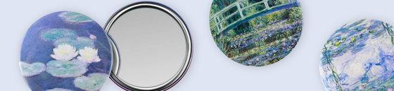 Miroirs de poche 80 mm