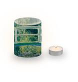 Candle shade, Monet, Japanese bridge