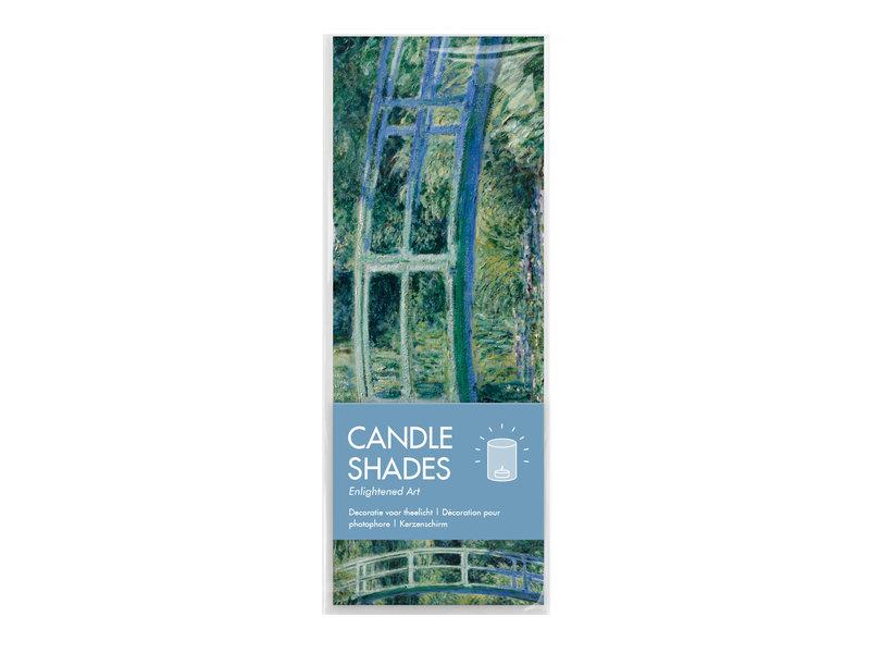 Wind lichtjes, Monet, Japanse brug