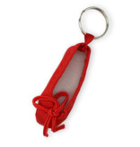 Schlüsselbund, Ballettschuh rot