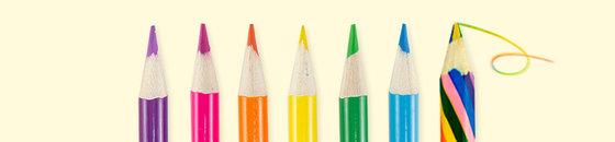 Multi-kleur potloden
