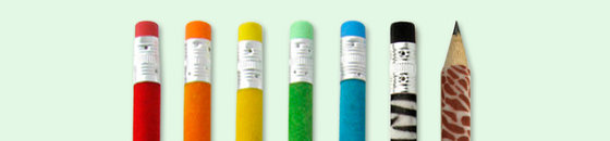 Fluwelen potloden
