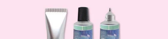 Pluma de tubo de pintura