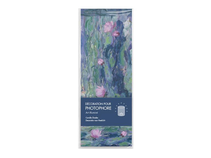 Photophore,  Monet, Nympheas
