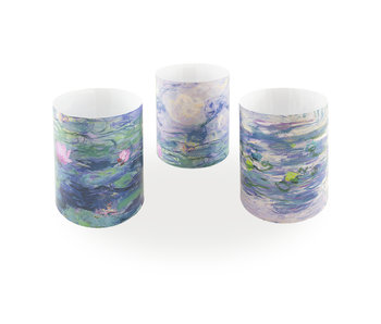 Candle shade, Monet, Water Lilies