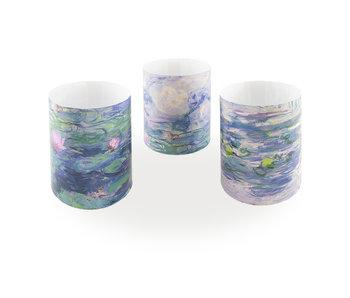 Wind leicht, Monet, Seerosen