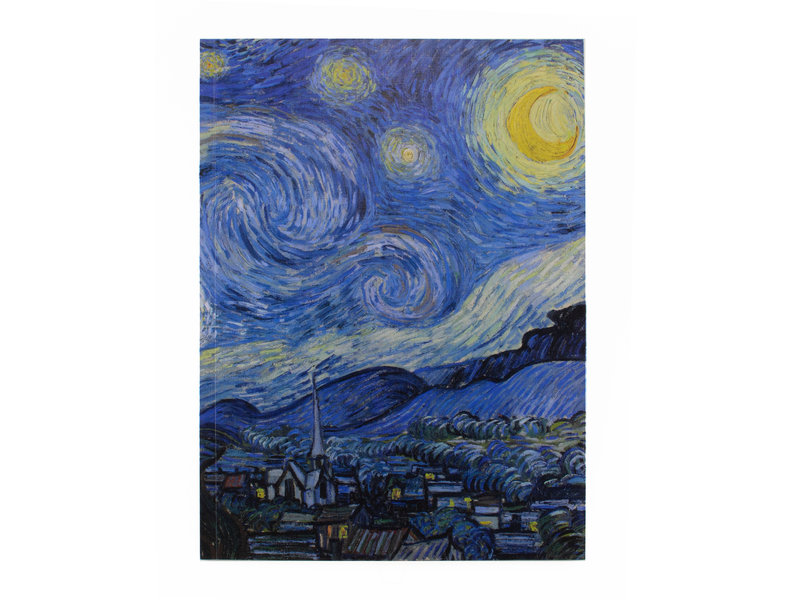 Cuaderno de dibujo de tapa blanda, Van Gogh, Noche estrellada