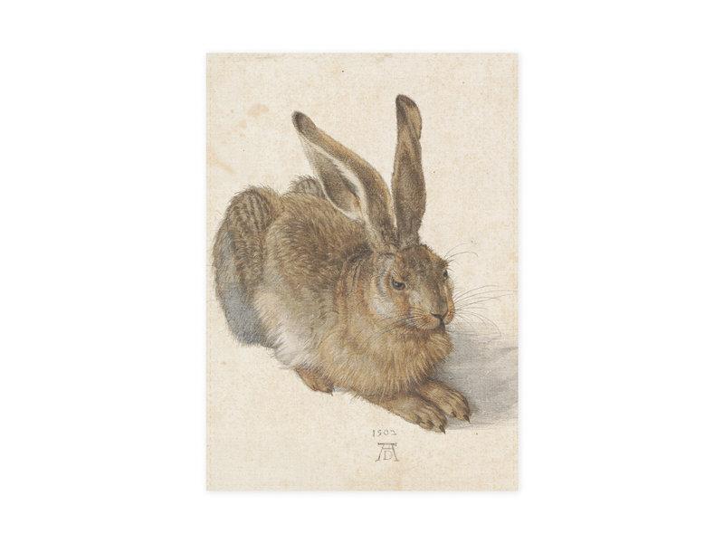 Geschirrtuch,  Dürer, Feldhase
