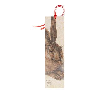 Classic bookmark , Dürer, Hare