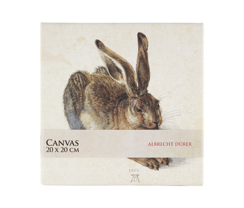 Canvas Print , 20x20 cm, Dürer, Hare