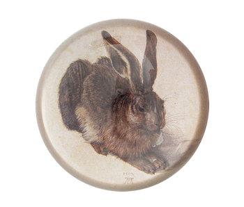 Glazen bolle  presse papier, Dürer, Haas