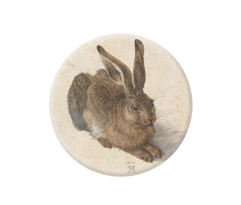 Pocket Mirror, Ø 60 mm, Dürer, Hare