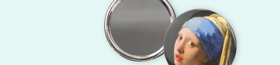 Miroirs de poche 60 mm