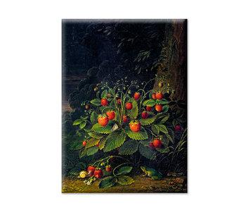 Imán de nevera, XL, Schlesinger, fresas