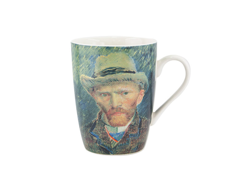Becher, Van Gogh Selbstporträt, Rijksmuseum