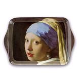 Ensemble: Tasse et plateau, Fille avec une boucle d'oreille perle, Vermeer