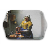 Set: Becher & Tablett, Milchmädchen, Vermeer