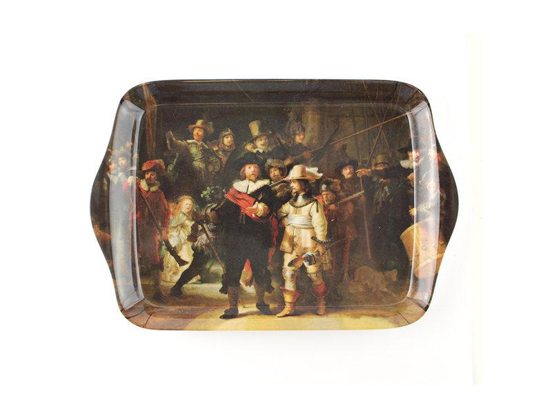 Set: Beker & dienblaadje, Nachtwacht,  Rembrandt
