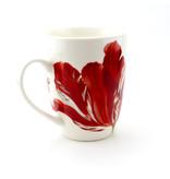 Set: Taza y bandeja, Merian, tres tulipanes